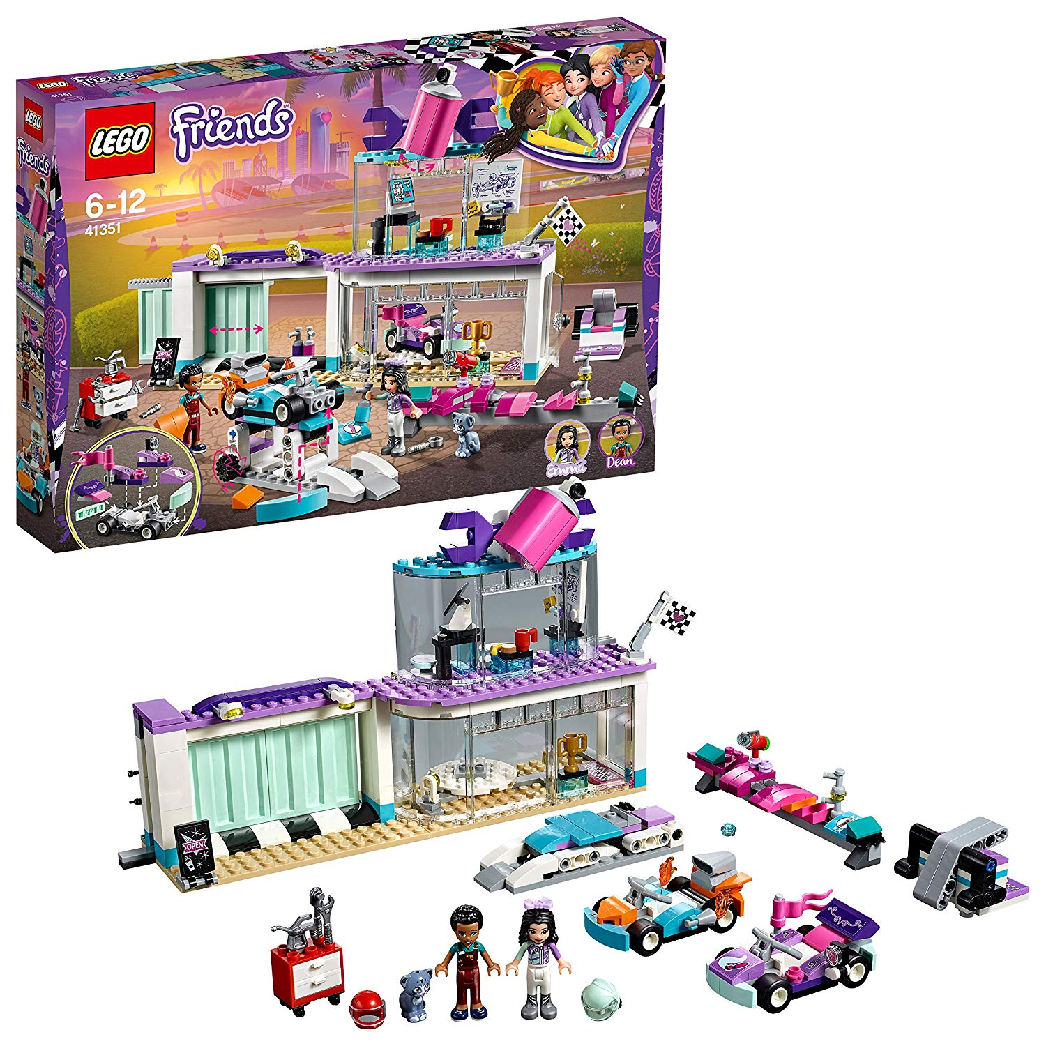 Lego Friends Tuning Werkstatt amazon