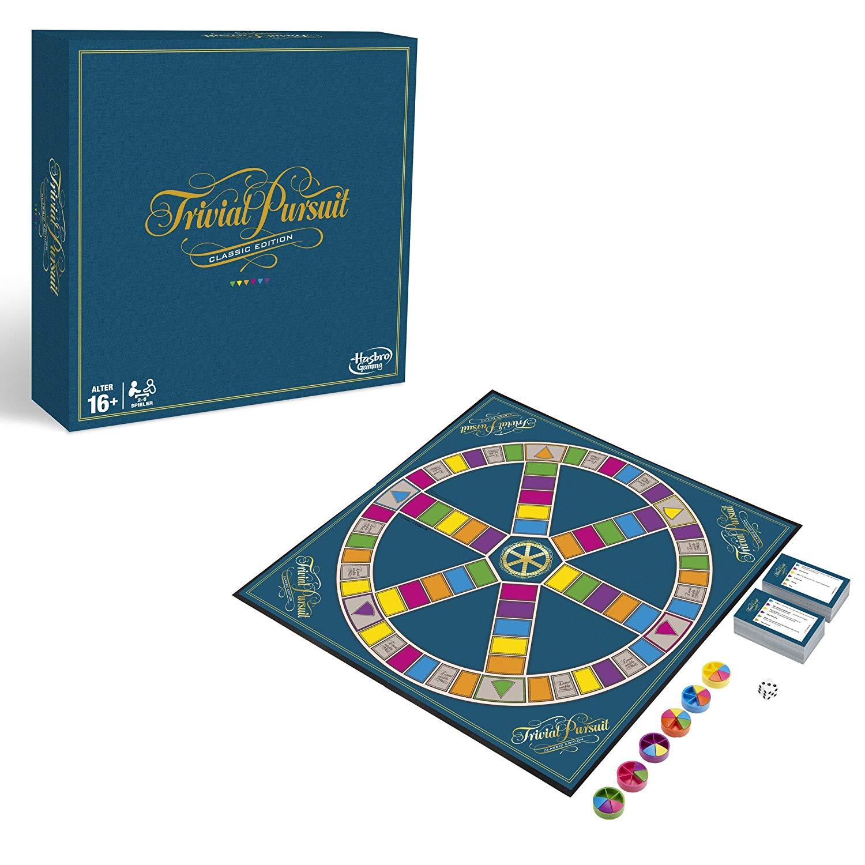 Trivial Pursuit Hasbro amazon