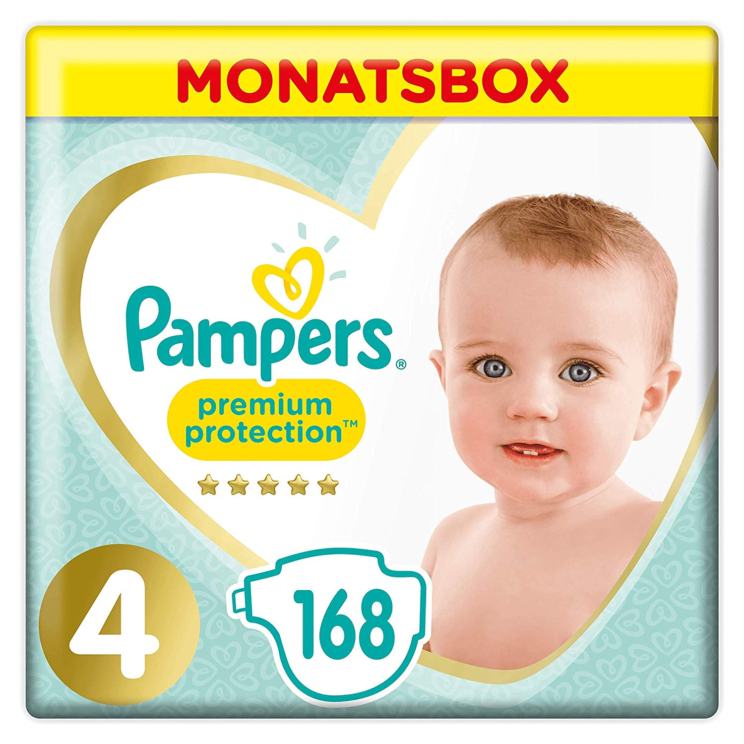 Pampers Windeln Monatsbox amazon
