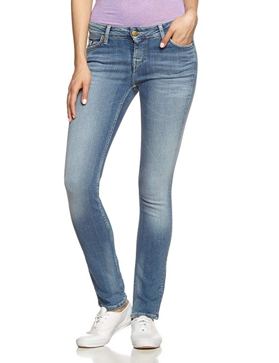 Mustang Damen Slim Fit Jeans amazon