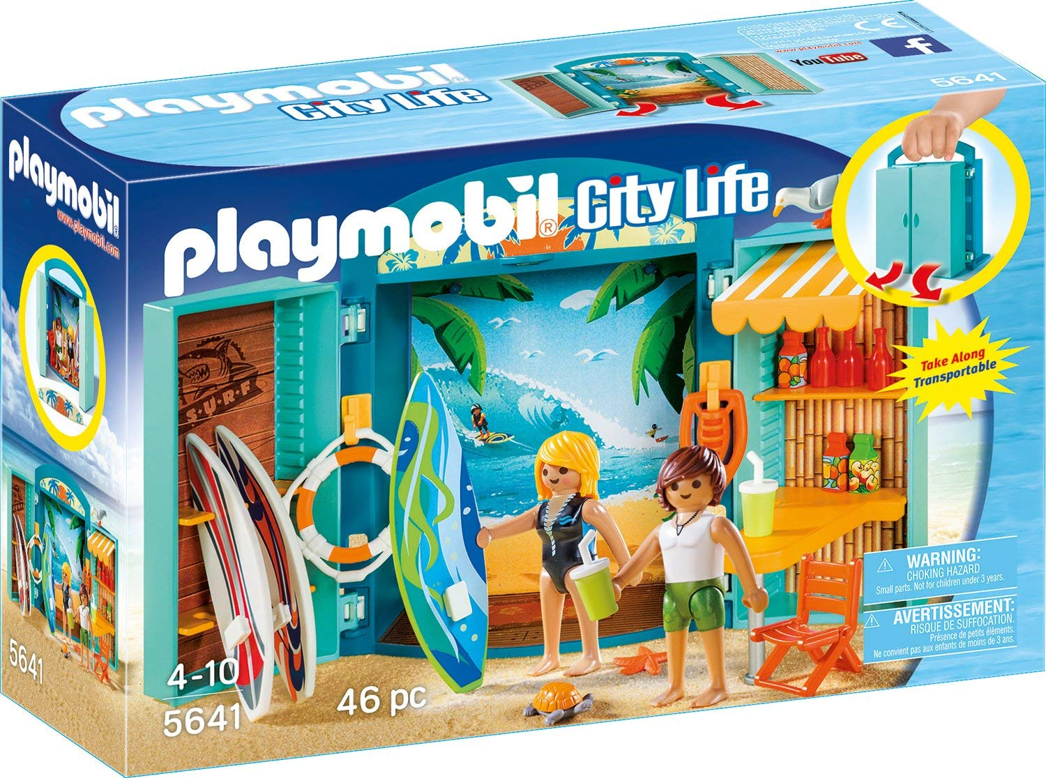 Playmobil City Life Surf Shop amazon