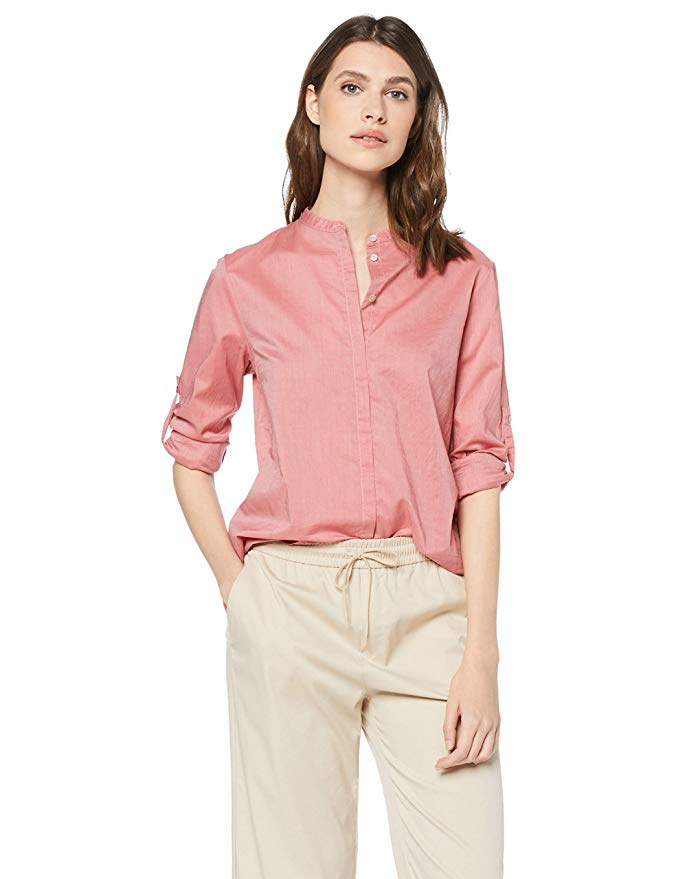 BOSS Damen Bluse rosa amazon