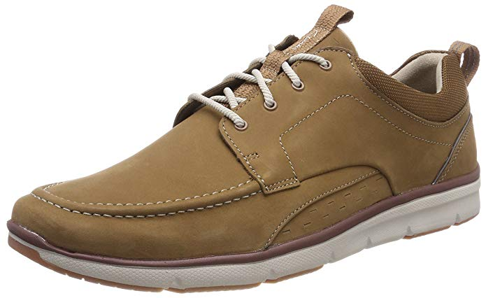 Clarks Herren Schuhe Sneakers braun amazon