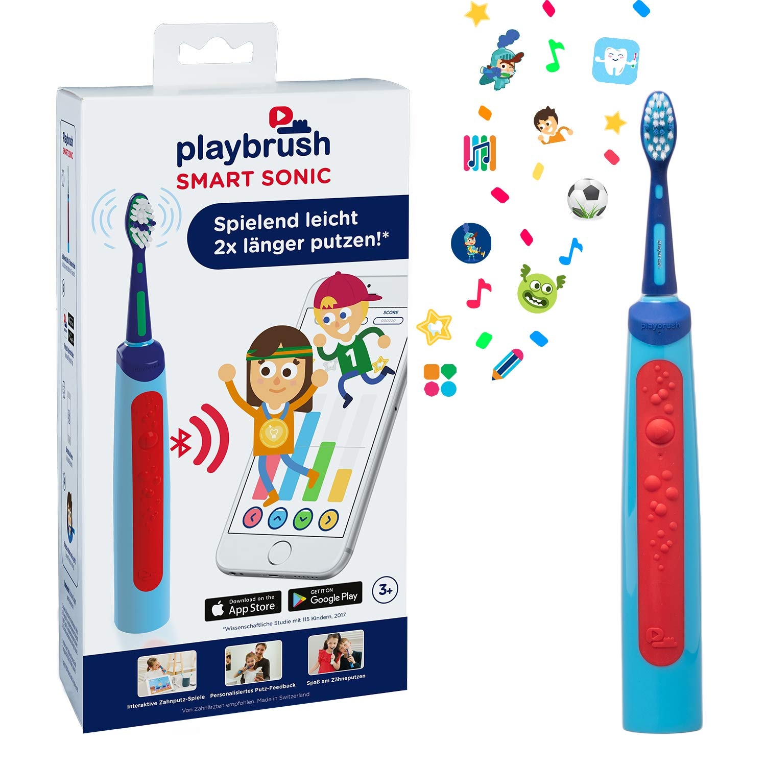 Playbrush Smart Sonic Zahnbürste amazon
