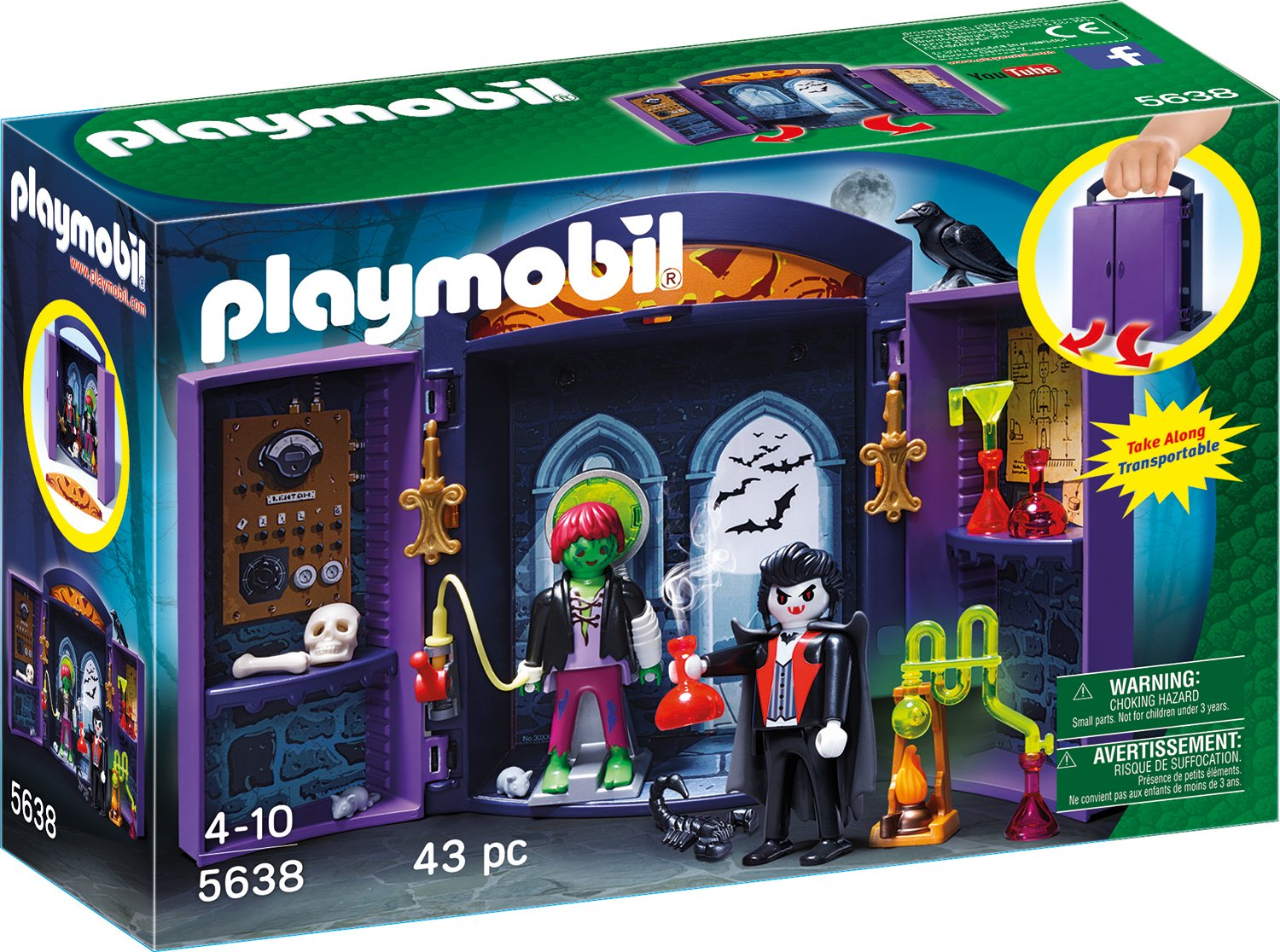 Playmobil Monsterburg amazon