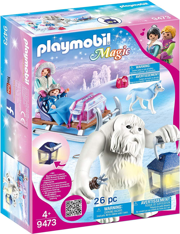 Playmobil Schneetroll mit Schlitten amazon