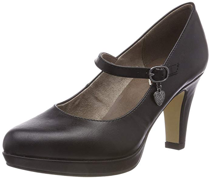 s.Oliver Damen Pumps schwarz amazon
