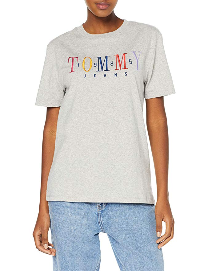 Tommy Jeans Damen T-Shirt amazon