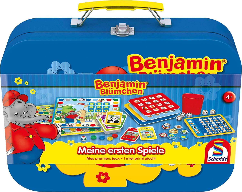 Benjamin Blümchen Spielekoffer Schmidt Spiele amazon