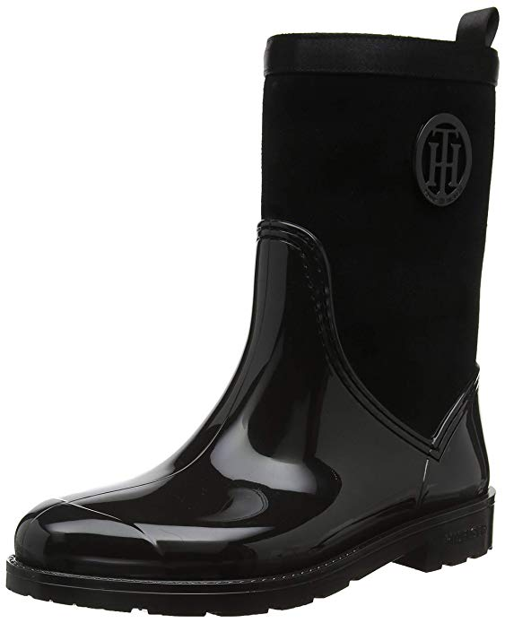 Tommy Hilfiger Damen Gummistiefel amazon