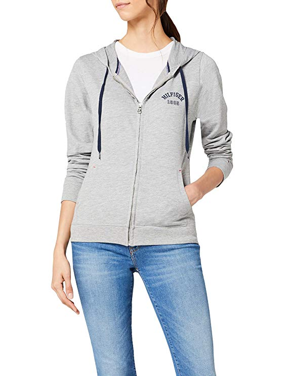 Tommy Hilfiger Damen Kapuzenweste amazon