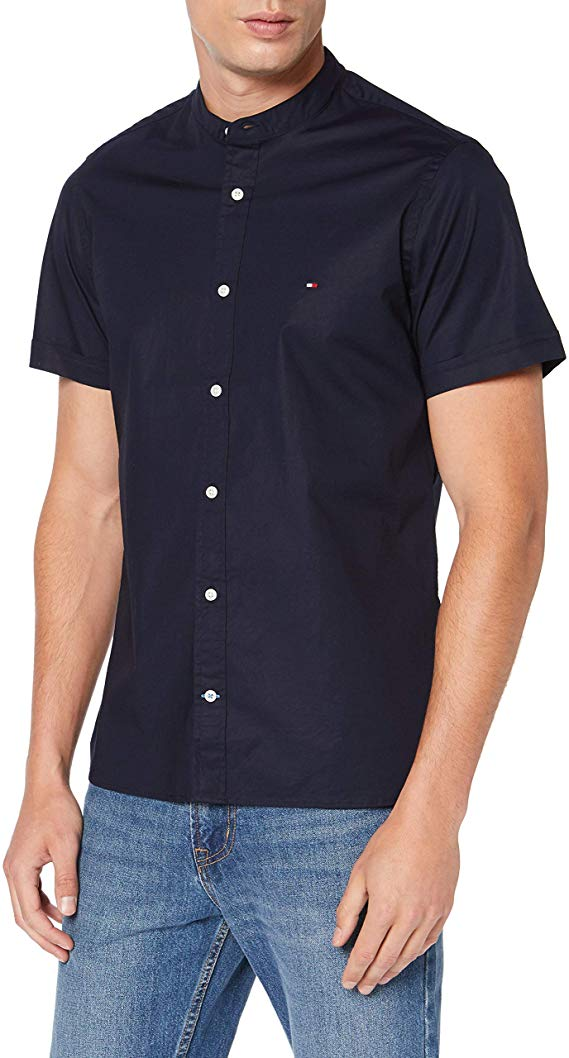 Tommy Hilfiger Kurzarm Hemd amazon