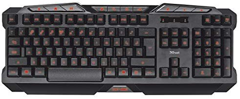Trust Gaming Keyboard amazon