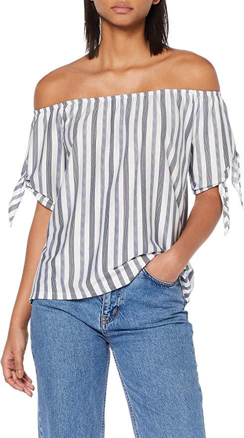 edc by Esprit schulterfreies Damen T-Shirt amazon
