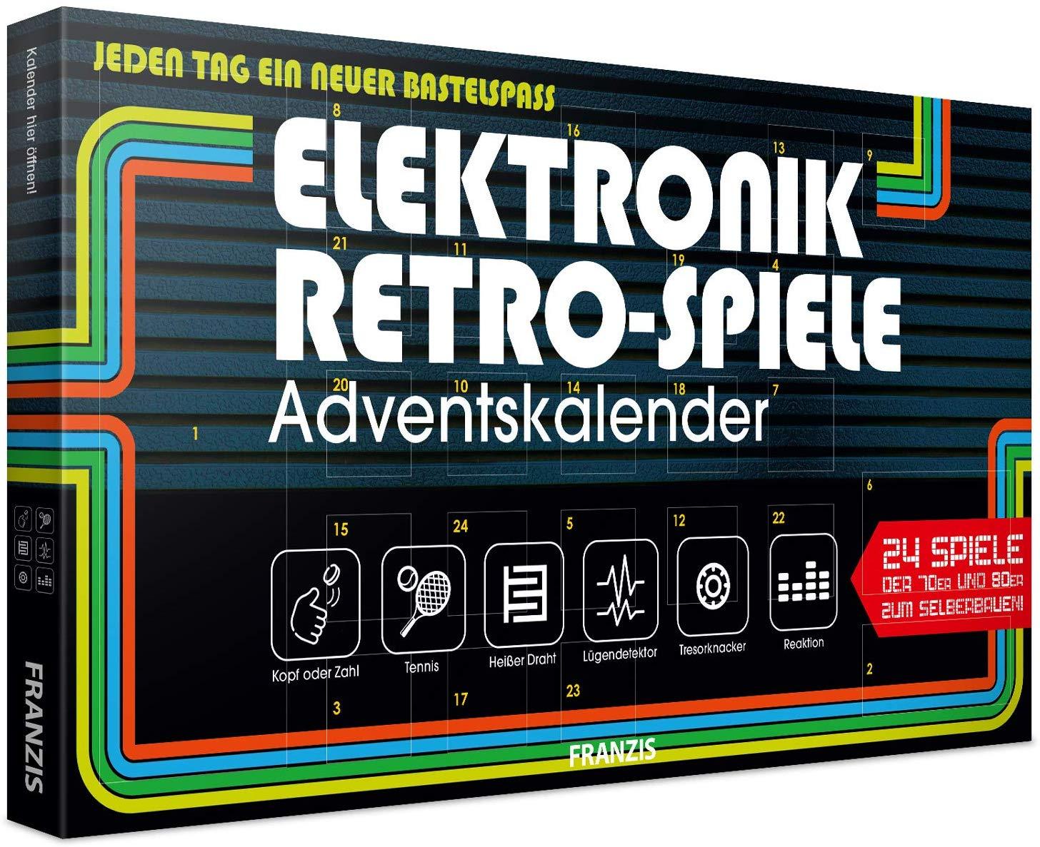 Franzis Retro Elektronik Adventskalender amazon