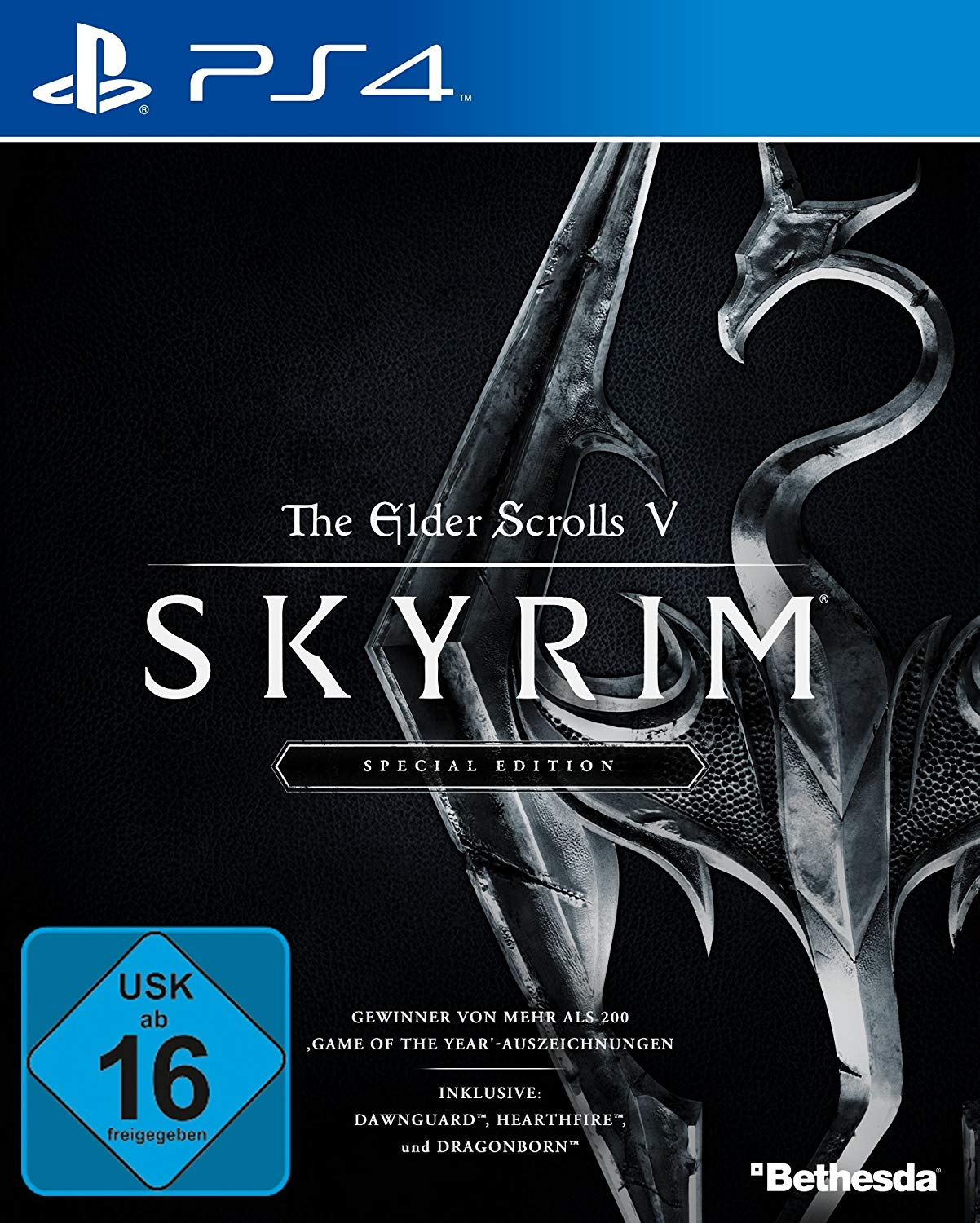 PS4 The Elder Scrolls V Skyrim Edition amazon