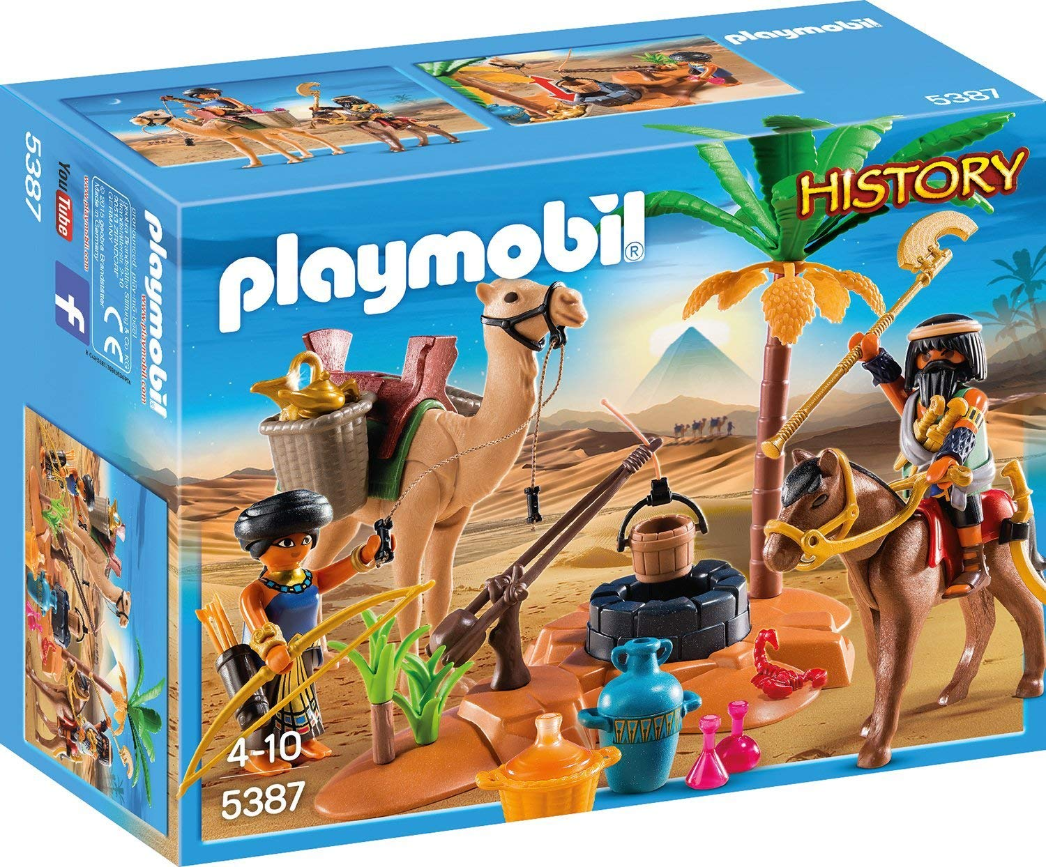 Playmobil History Grabräuber amazon