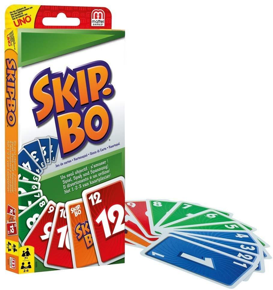 Skip-Bo Mattel amazon