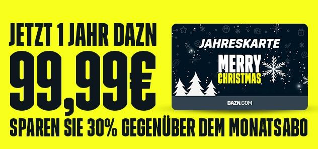 Amazon.de DAZN Angebot Monatsabo Geschenkgutscheine