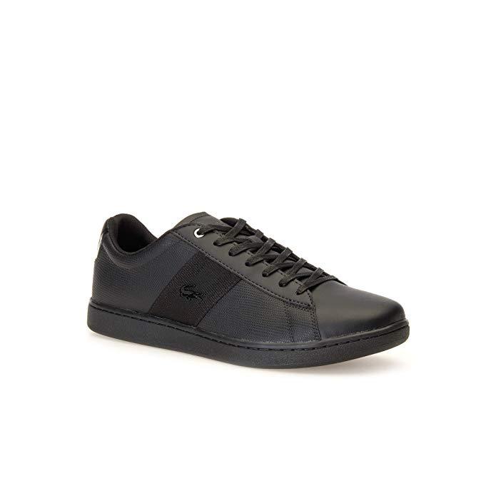Lacoste Herren Sneakers schwarz amazon