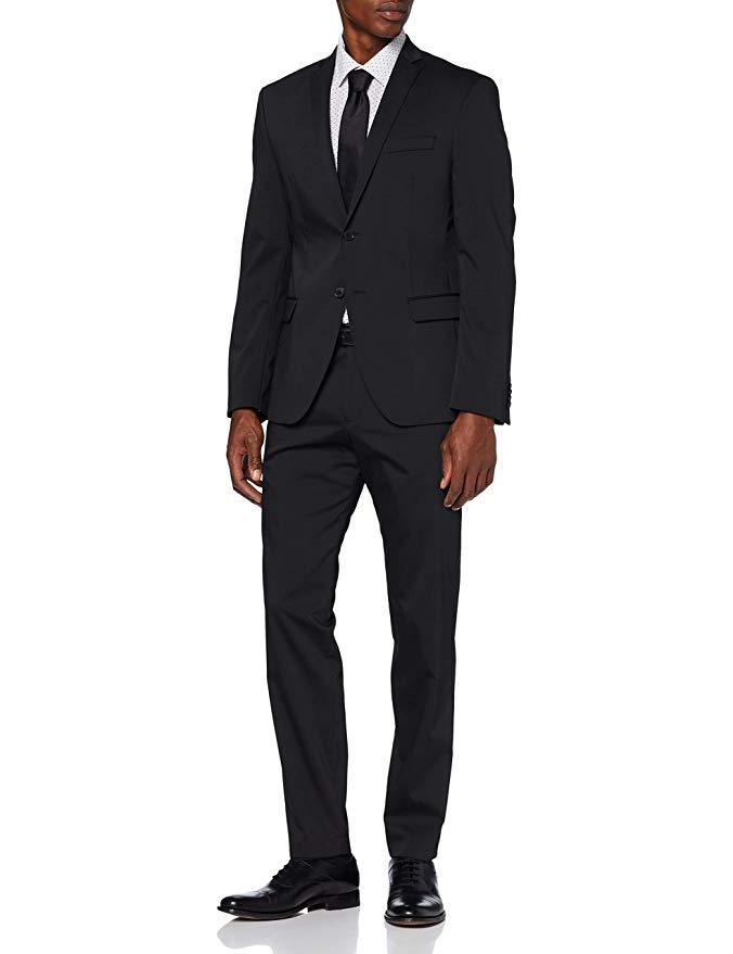 s.Oliver Slim Fit Anzug schwarz amazon
