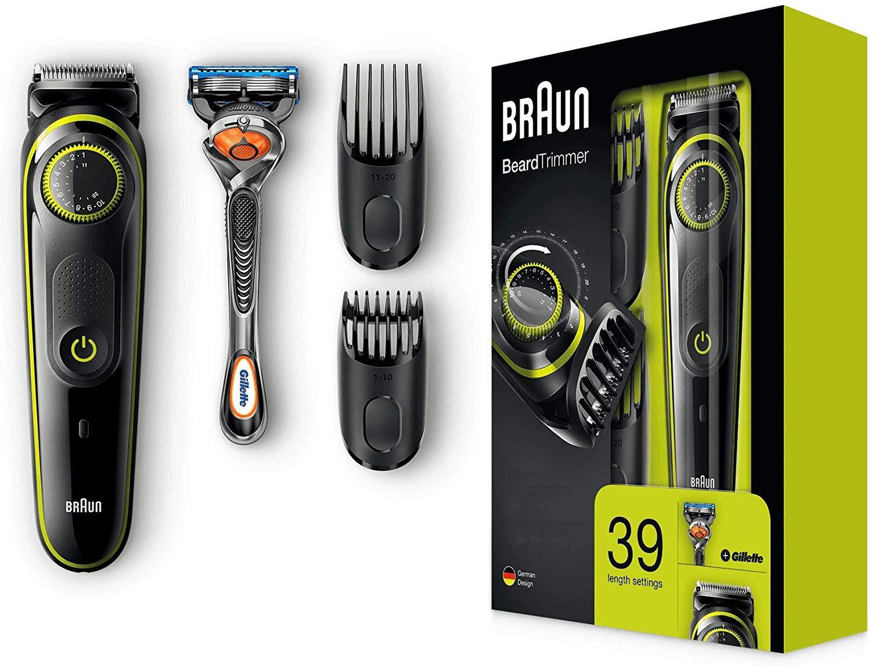 Braun Barttrimmer Haarschneider amazon