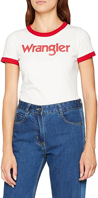 Wrangler T-Shirt Damen amazon