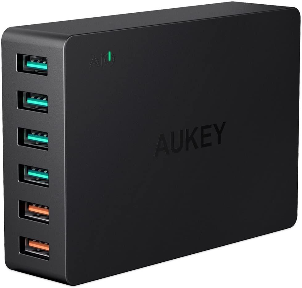 Aukey 6-Port USB Ladegerät amazon