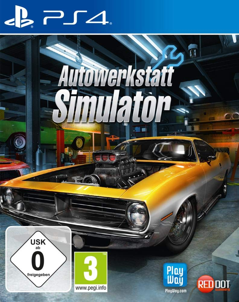 Autowerkstatt Simulator PS4 amazon