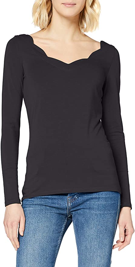 Esprit Damen Langarm T-Shirt amazon