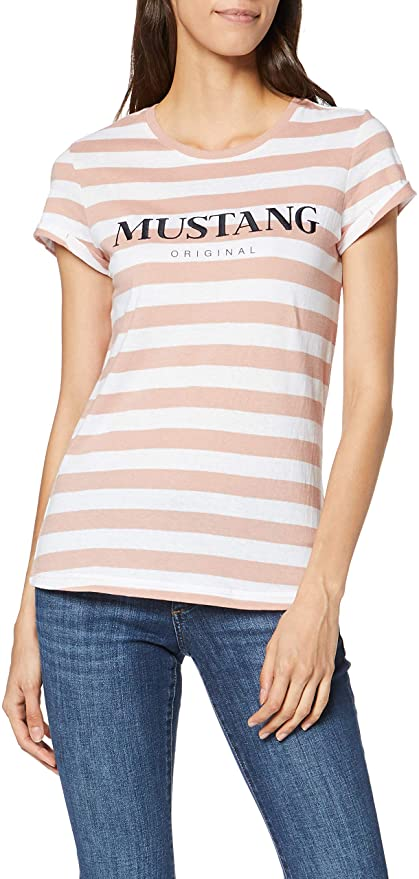 Mustang Damen T-Shirt amazon