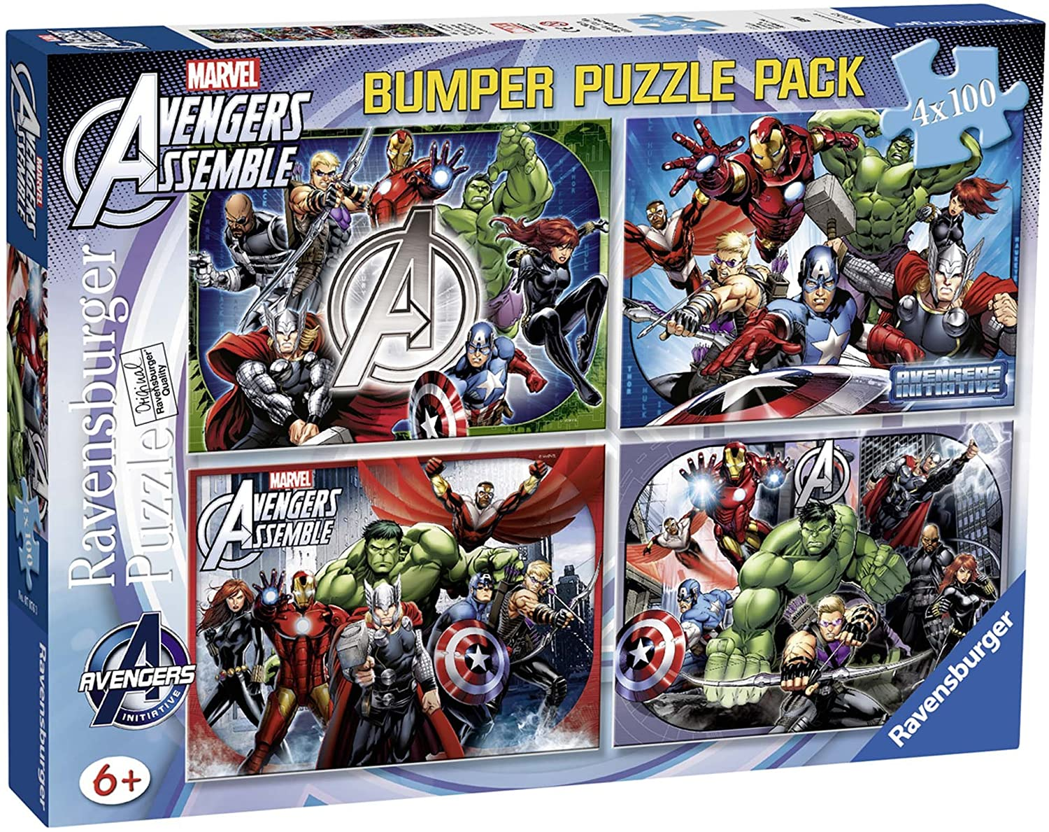 Ravensburger Marvel Puzzle amazon