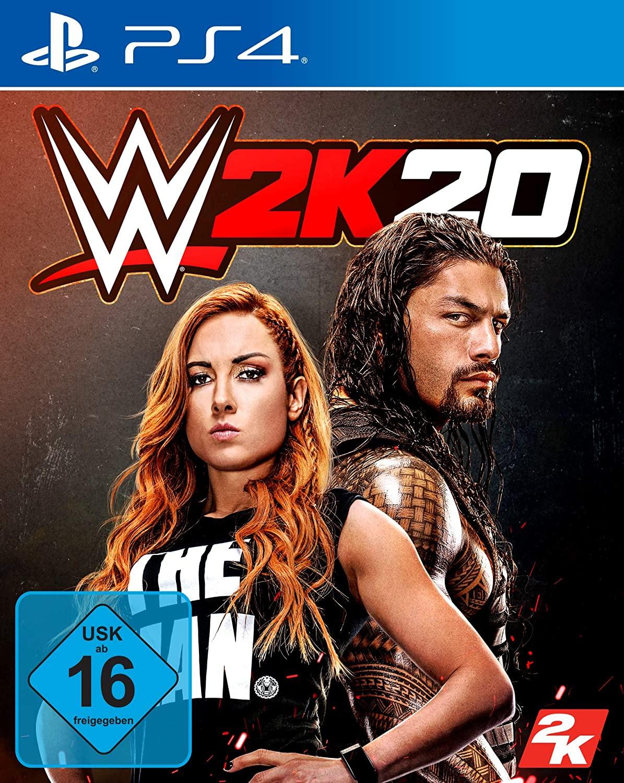 WWE 2K20 PS4 amazon