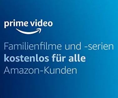 amazon Video Familienfilme und -serien kostenlos
