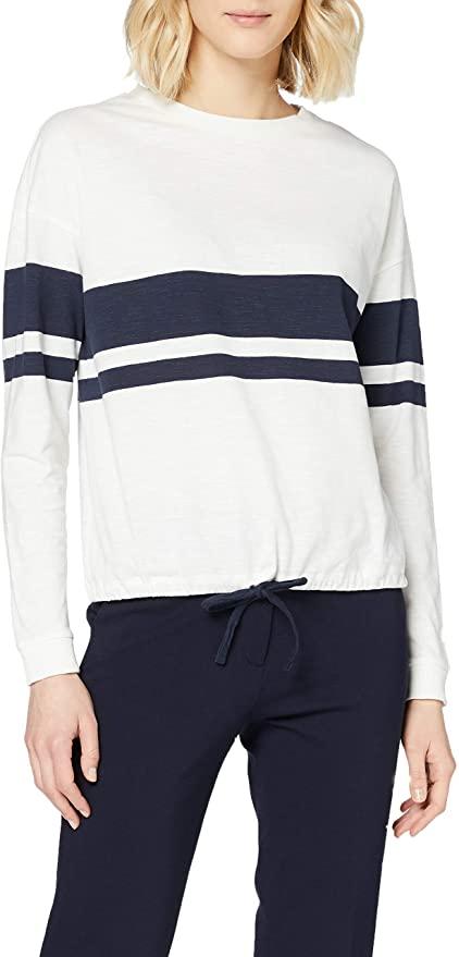 edc by Esprit Damen Langarm Shirt amazon