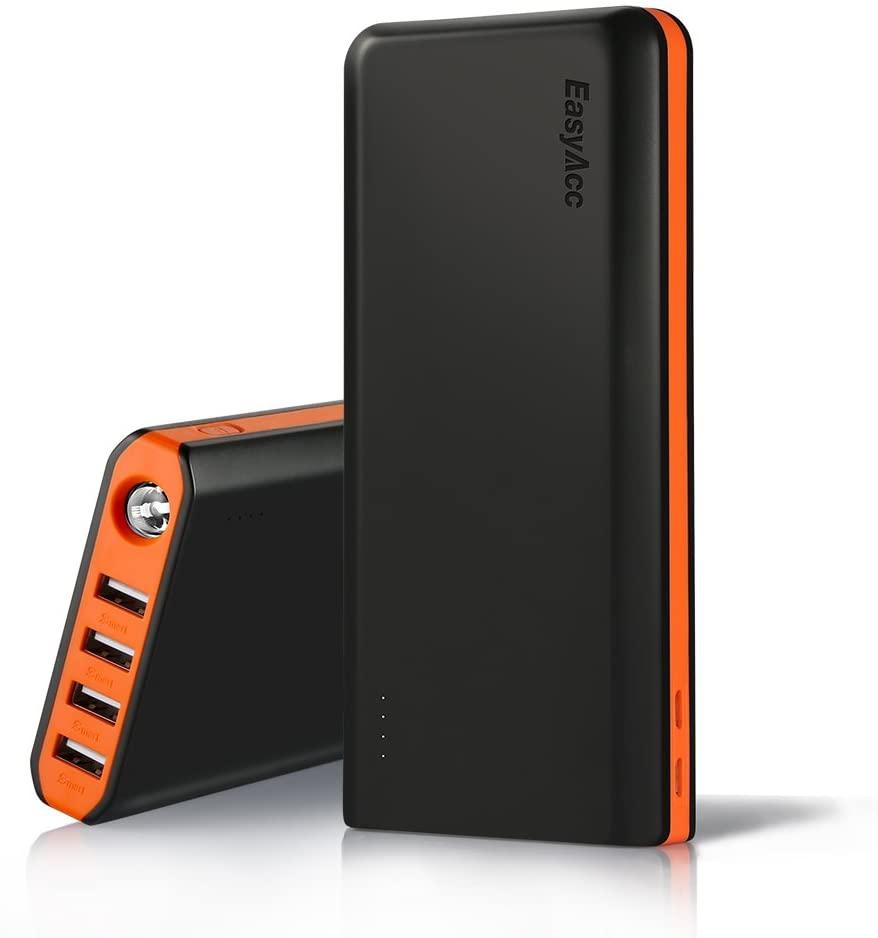 EasyAcc Powerbank orange amazon