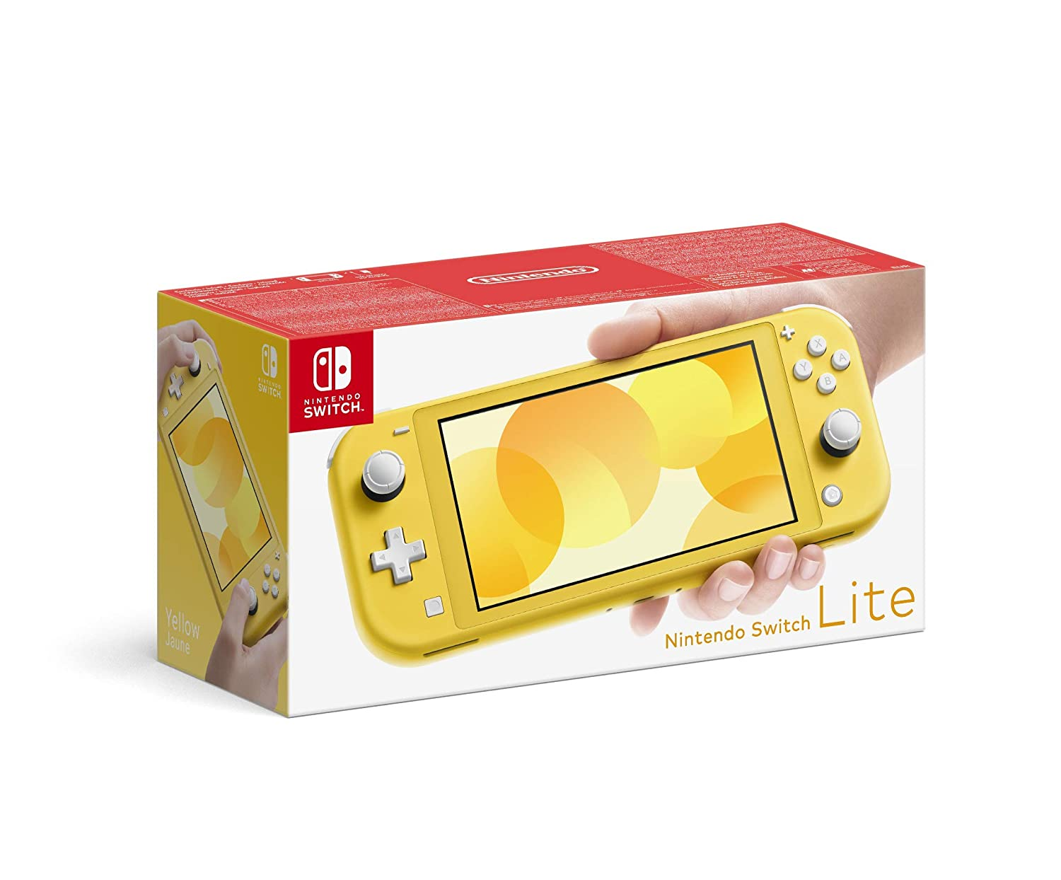 Nintendo Switch Lite gelb amazon