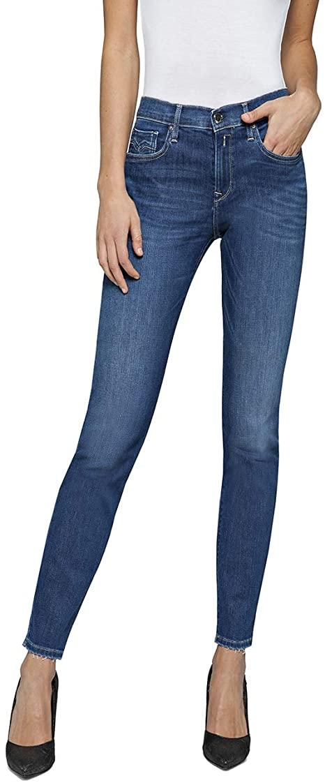 Replay Damen Jeans Vivy amazon
