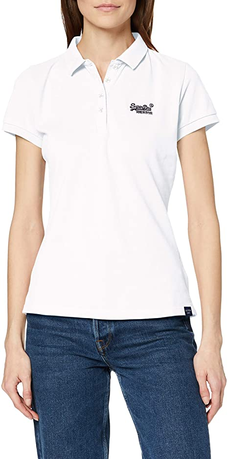 superdry Damen Poloshirt amazon