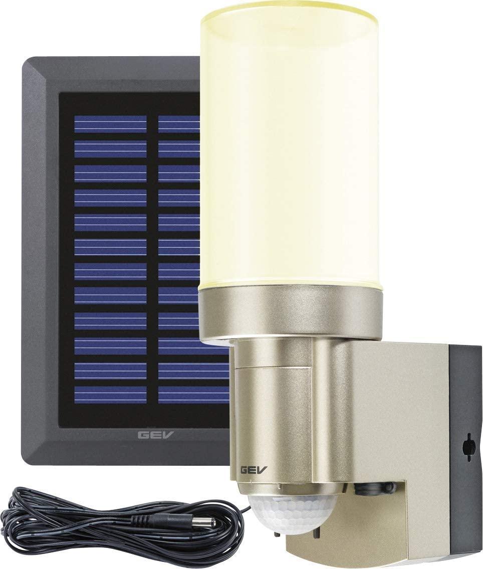 GEV LED Solar Außenleuchte amazon