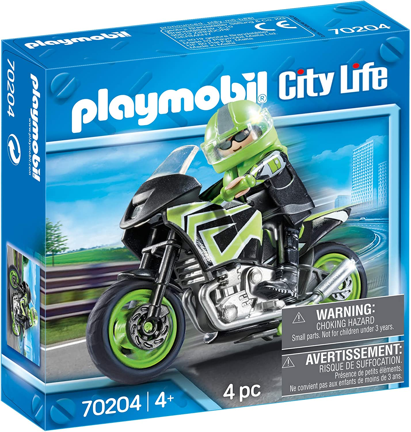 Playmobil City Life Biker amazon
