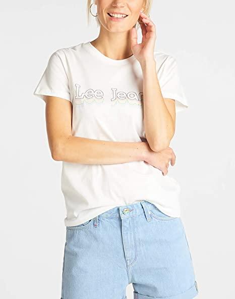 Lee Damen T-Shirt amazon