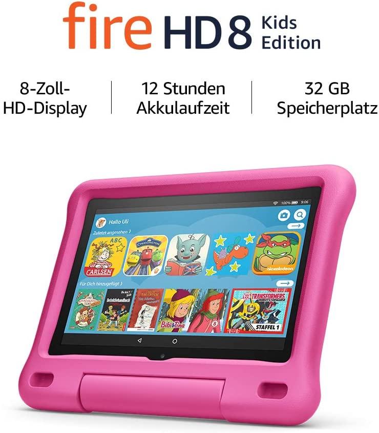 Fire HD 8 Kids Tablet amazon