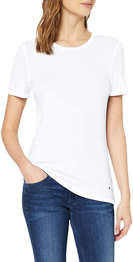 Tommy Hilfiger Damen T-Shirt amazon