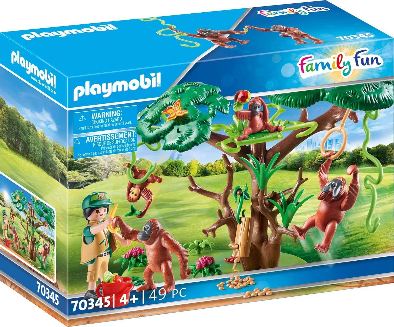 Playmobil Orang Utans im Baum amazon