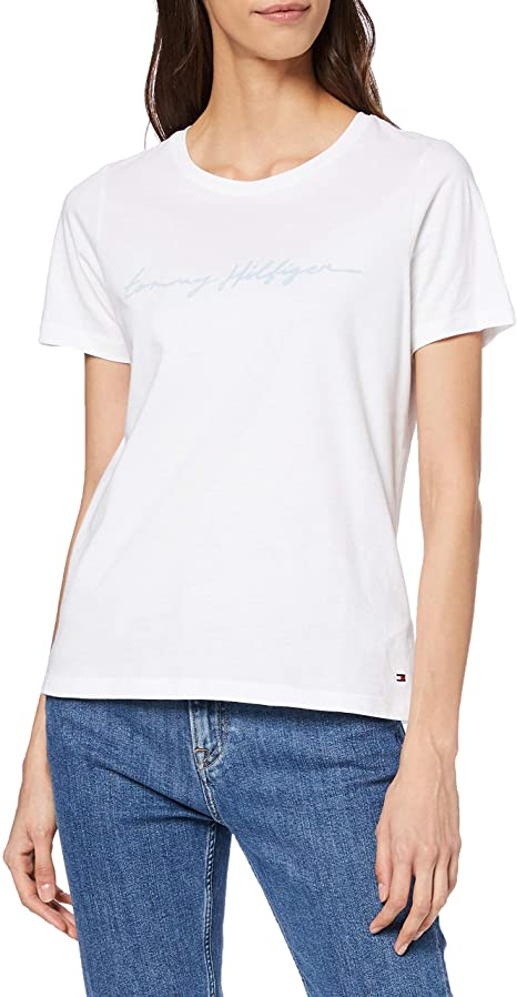 Tommy Hilfiger Damen Shirt amazon
