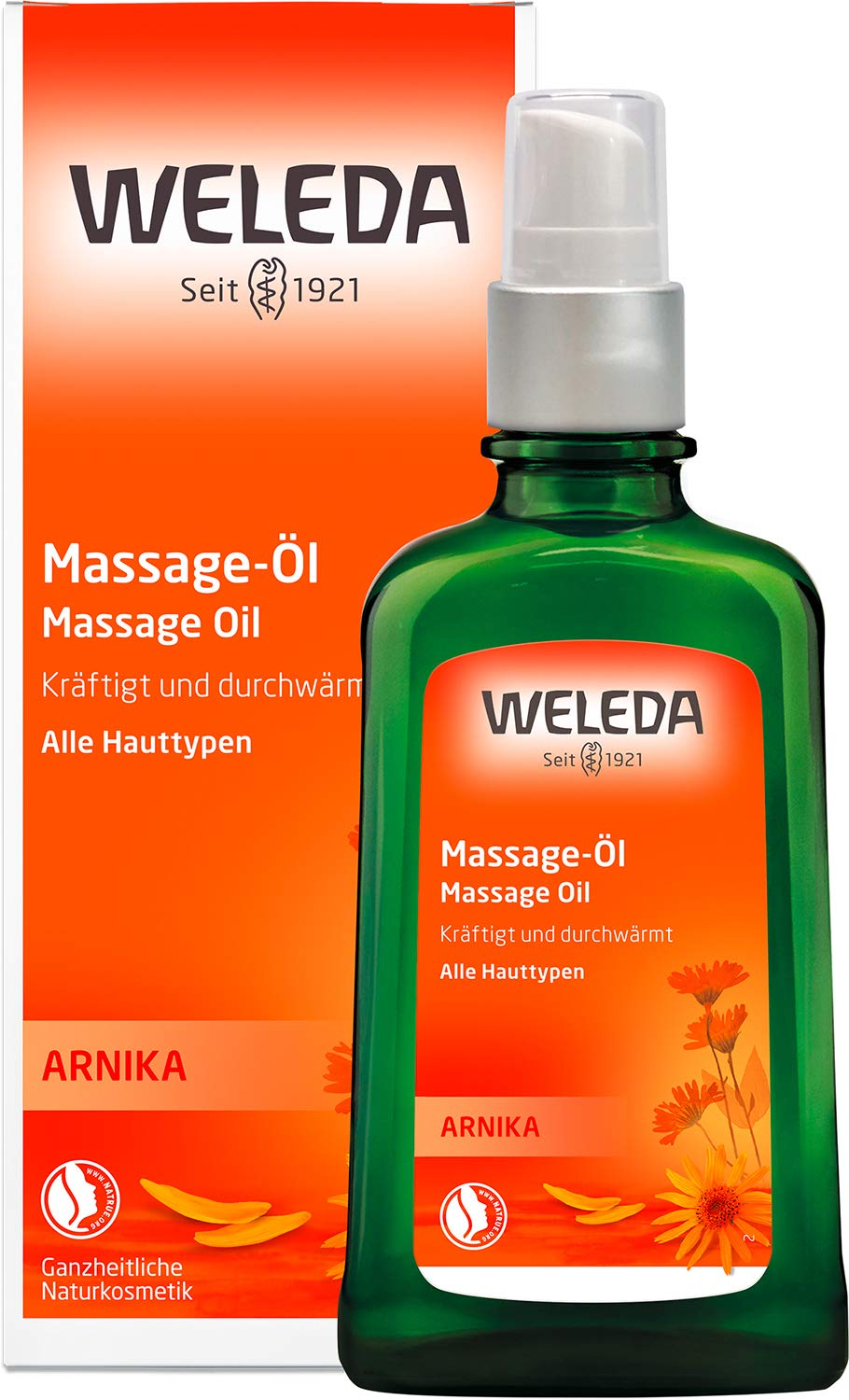 Weleda Massageöl amazon